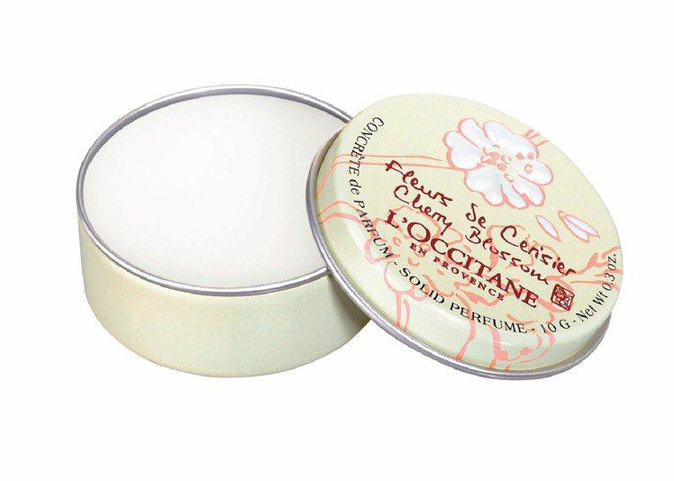 歐舒丹櫻花香膏10g/450元。圖/歐舒丹提供
