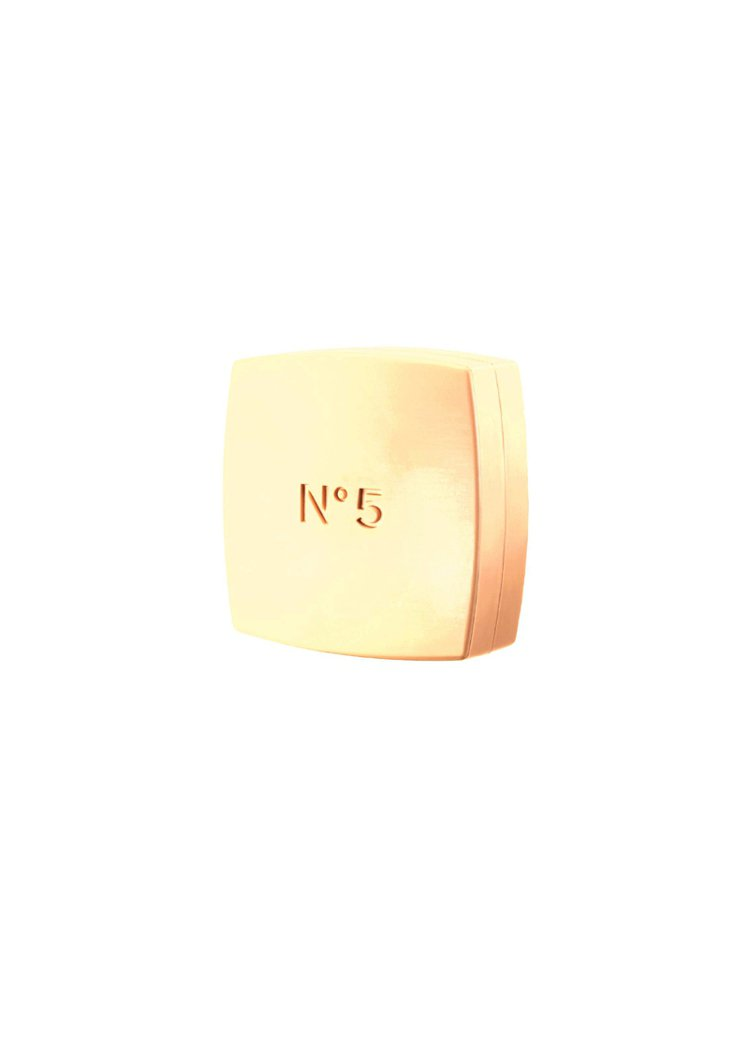 N°5潔膚香水皂150g/980元。圖/香奈兒提供