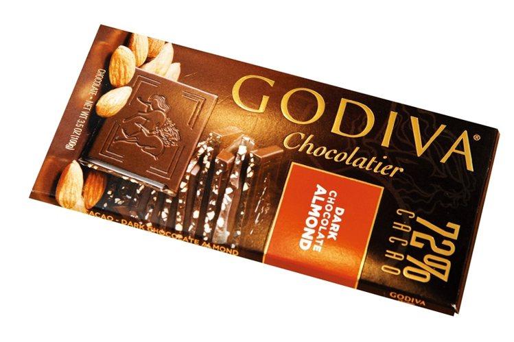 最愛吃黑巧克力,獨特的苦味,一小塊便口齒留香。圖/大美人提供
