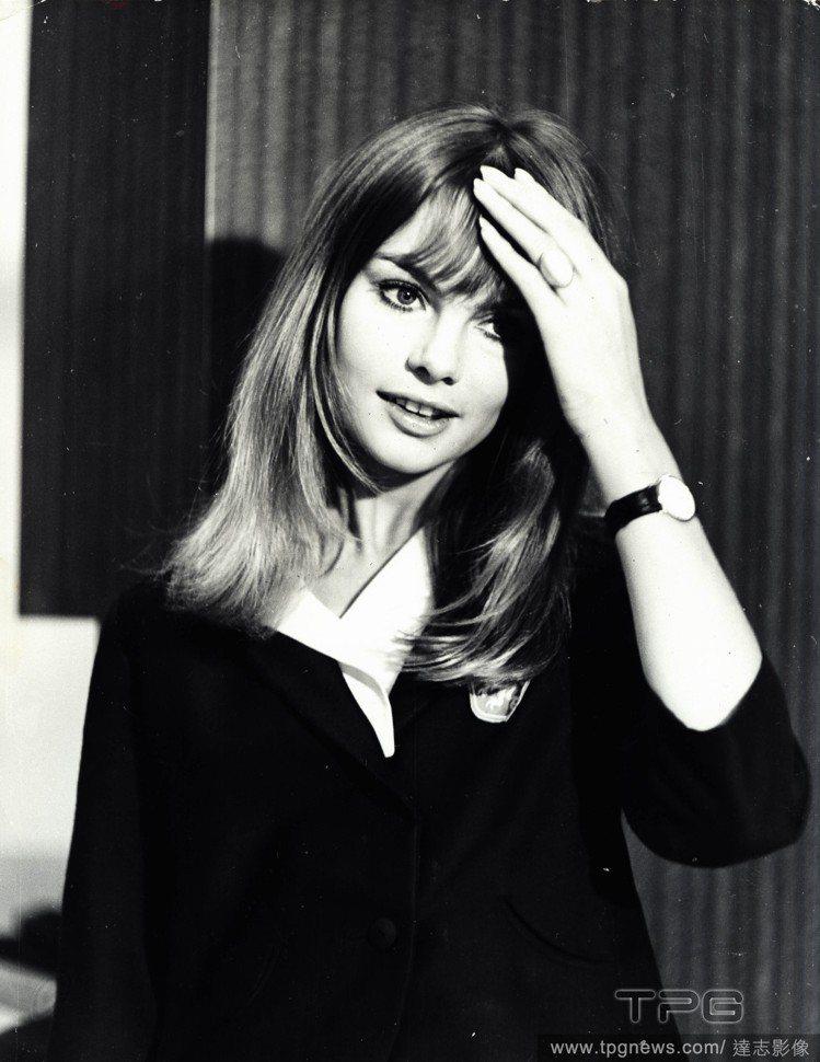 六○年代傳奇超模Jean Shrimpton。圖/達志影像