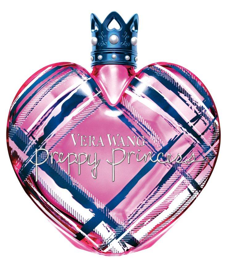 Vera Wang 的香水包裝一向很受女性喜愛。圖為花邊公主女性淡香。圖/盧亞提...