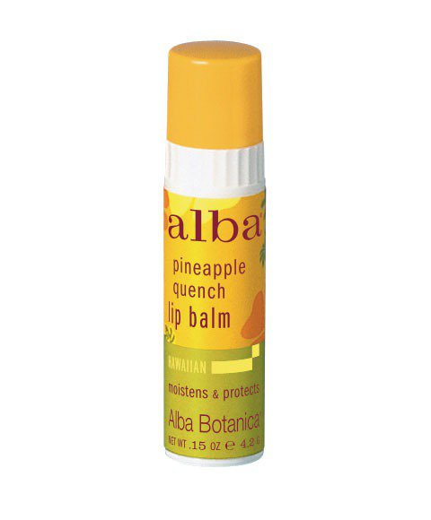 alba 夏威夷護唇膏(4.2g/200元) 守護唇部肌膚,給予充分的滋潤與光澤...