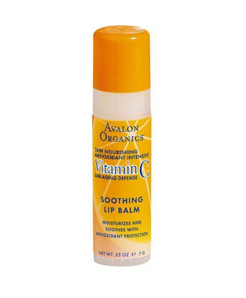 Avalon維他命C修復護唇膏(7g/250元) 滋潤同時潤白雙唇,修護容易乾裂...