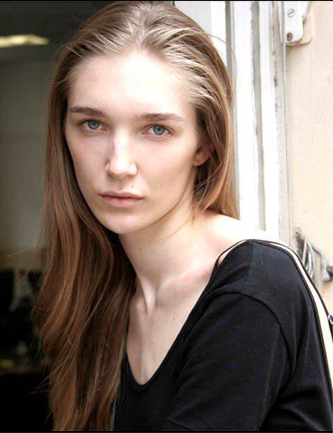 長髮時期的Janice Alida。圖/擷取自models.com