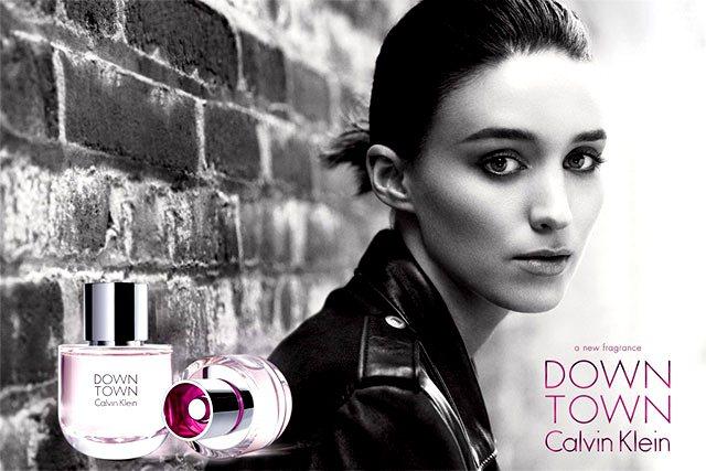 女星魯妮瑪拉正式迎接她的第一個代言處女作--Calvin Klein 女性香水「...
