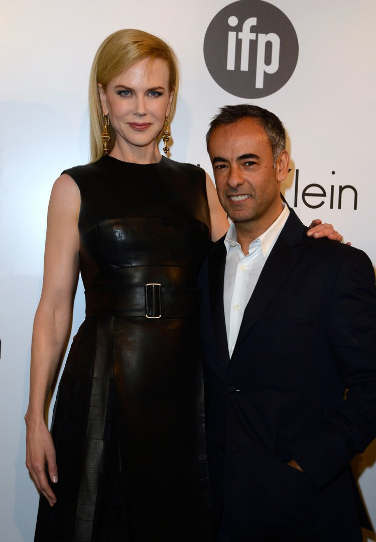 妮可基嫚與Calvin Klein Collection女裝創意總監Franci...