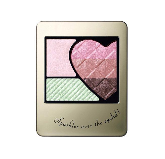 INTEGRATE彩虹甜心眼影盒。圖/INTEGRATE提供