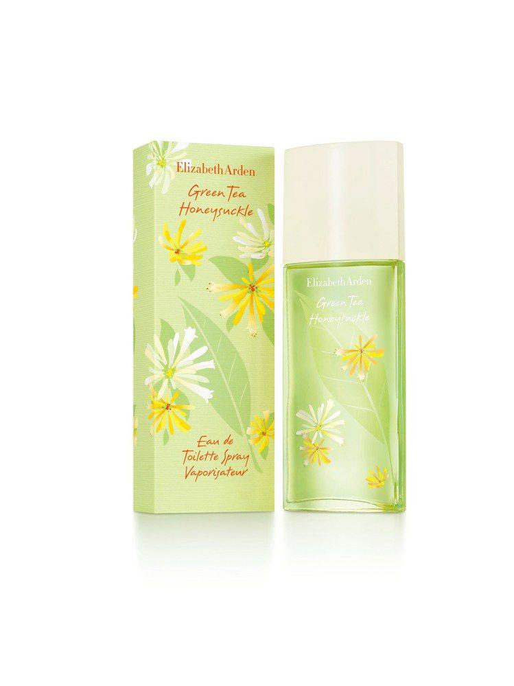 綠茶花園之舞香水。100ml/1,800元。圖/伊麗莎白雅頓提供