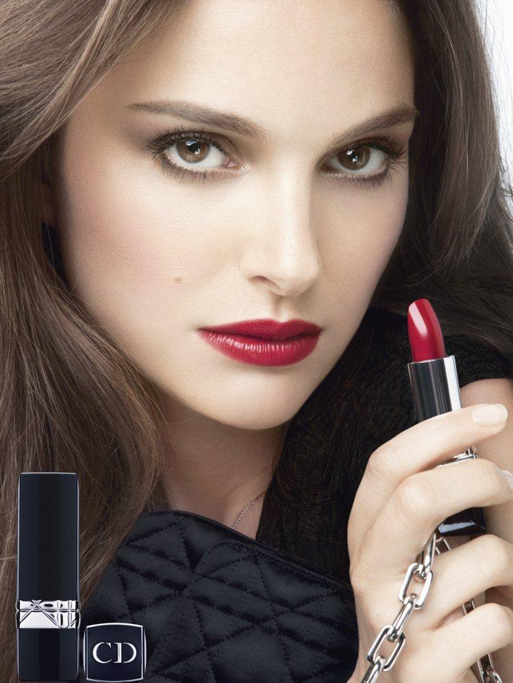 迪奧藍星唇膏歡慶60周年,推出全新32色。圖/Dior提供