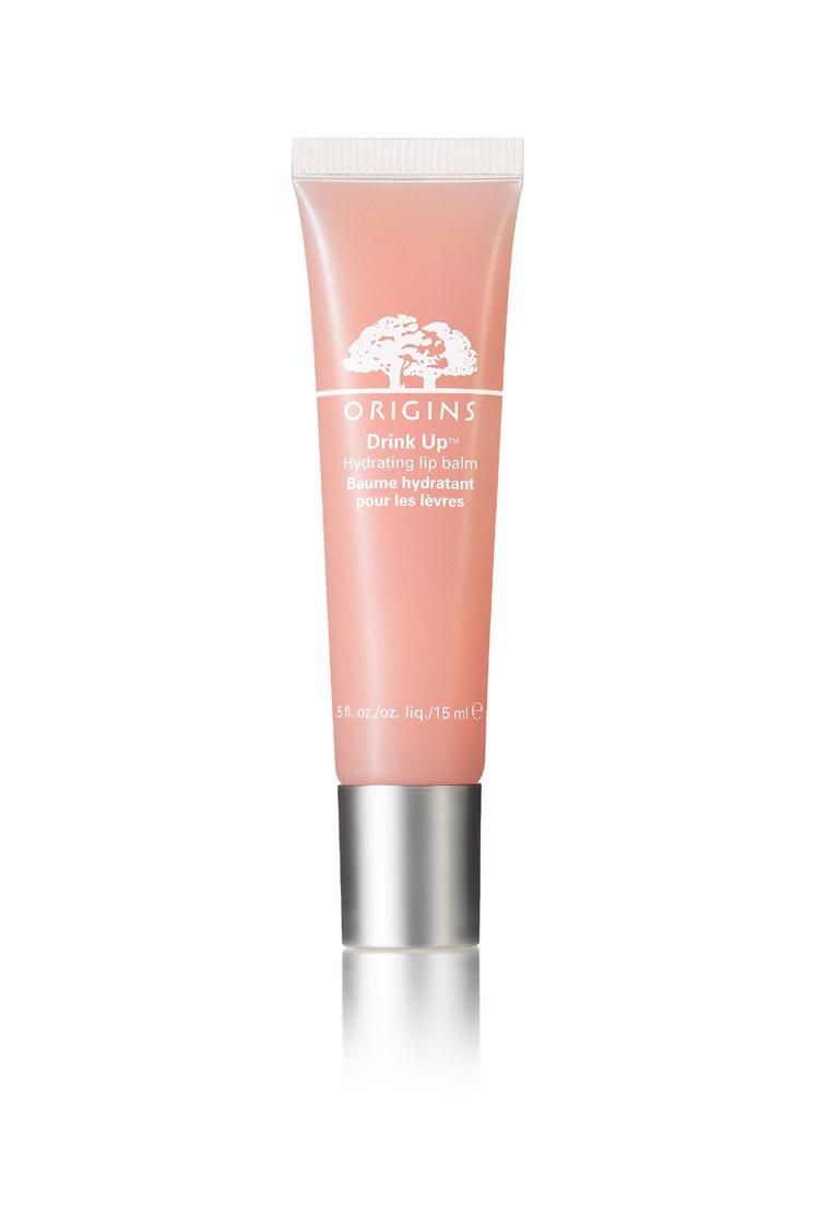 品木宣言一飲而盡保濕潤色護唇蜜,杏桃裸 15ml。NT$500。圖/品木宣言提供