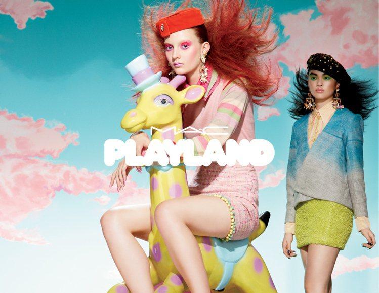 彩妝品牌 M.A.C 最新推出的「夏妝遊樂園」系列,將你對遊樂園的印象都化為彩妝...
