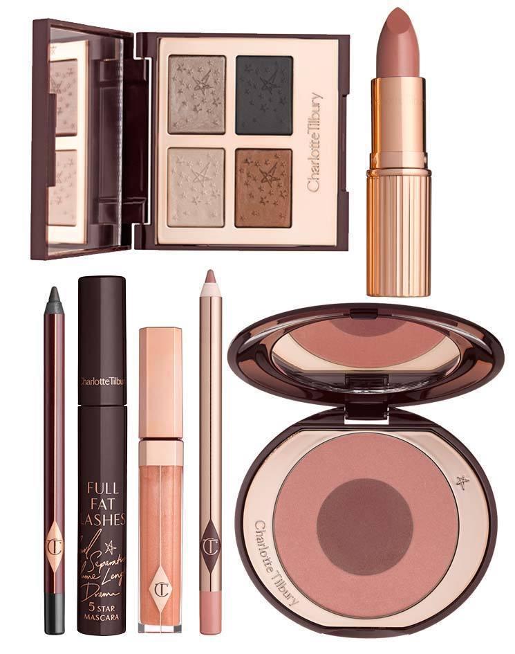Charlotte Tilbury 推出超模美妝盒,裡面不僅有品牌主打彩妝,還內...