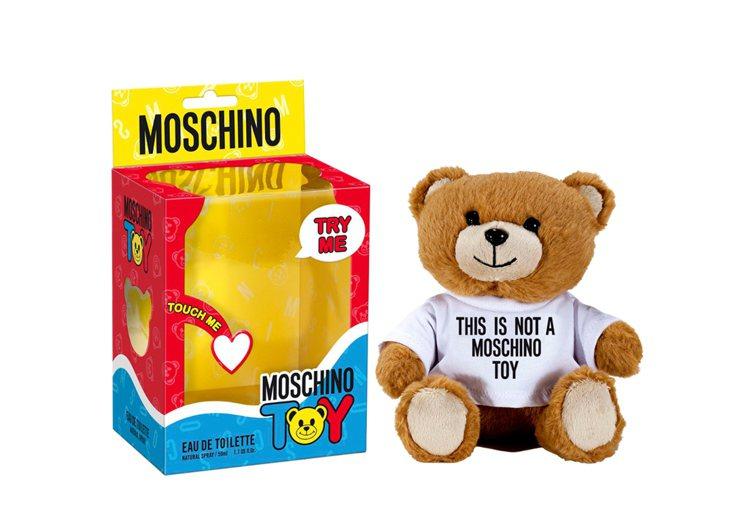 MOSCHINO熊芯未泯淡香水50ml、2,950元。圖/宏亞香水提供