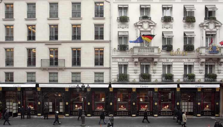 今日巴黎的卡地亞和平路13號總店仍舊是品牌重要地標。圖/卡地亞提供