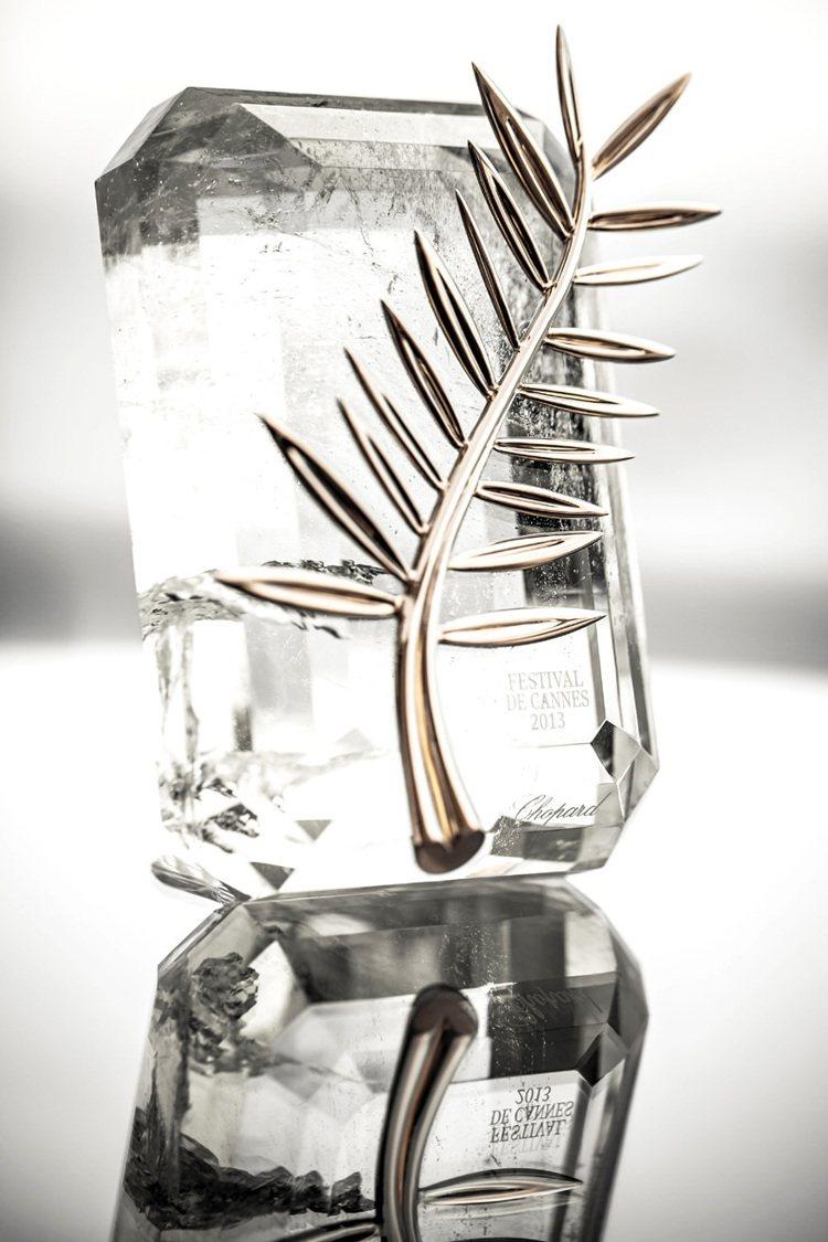 蕭邦妝點女星,也設計製作坎城至高榮譽金棕櫚獎盃。圖/迪生提供