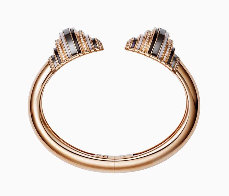 卡地亞Paris Nouvelle Vague系列Affranchie手環。圖/...