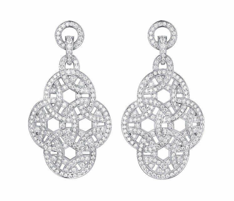 白K金鑲嵌鑽石,209萬元。圖/Cartier提供