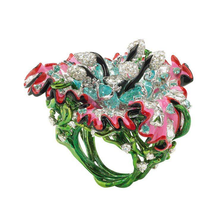 Victoire代表作之一Belladone Island系列作品。圖/Dior...