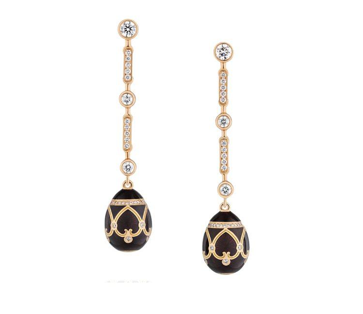 彩蛋耳環。圖/珠寶之星