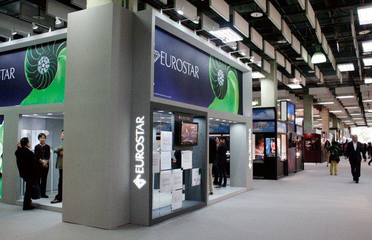 來自比利時最知名的鑽石供應中心Eurostar此次也來台參展。圖/珠寶之星