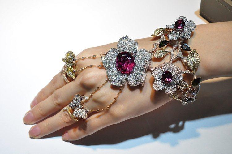 新加坡珠寶品牌 Forever Jewels。圖/珠寶之星