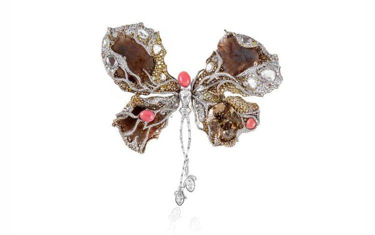 Cindy Chao與莎拉潔希卡派克合作的作品「芭蕾蝴蝶」,唯美浪漫。圖Cind...