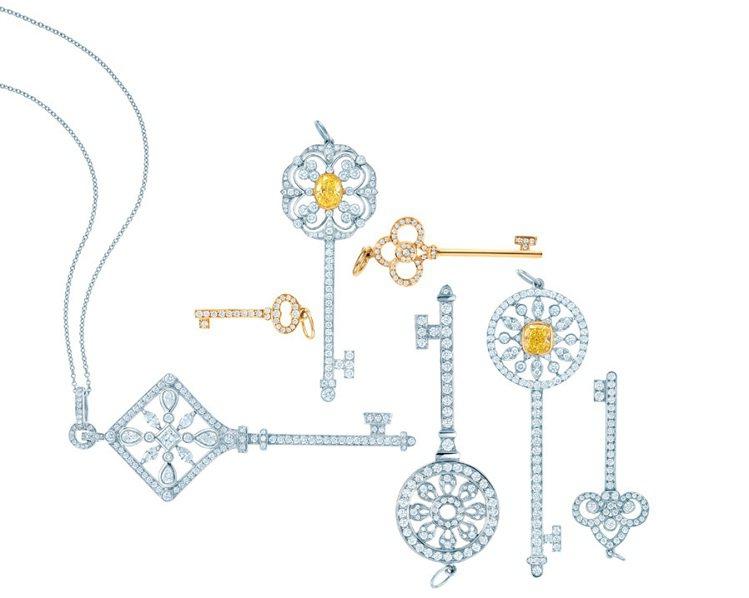 Tiffany Keys鑰匙系列。圖/Tiffany 提供