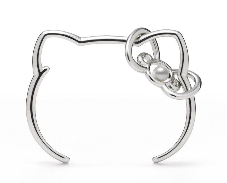 MIKIMOTO X Hello Kitty真珠手環,23,000元。圖/MIK...