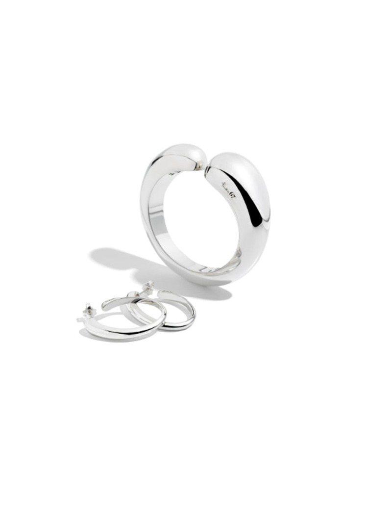 POMELLATO 67系列純銀耳環,14,000元。圖/POMELLATO提供