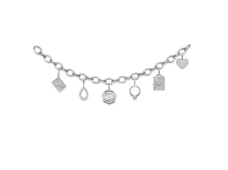 海瑞溫斯頓鑽石墜飾 Fifth Avenue Vault 鑽石墜飾。圖/海瑞溫斯...