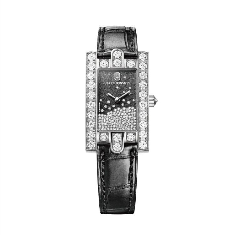 海瑞溫斯頓第五大道AVENUE 系列_經典鑽滴腕錶_Avenue Diamond...