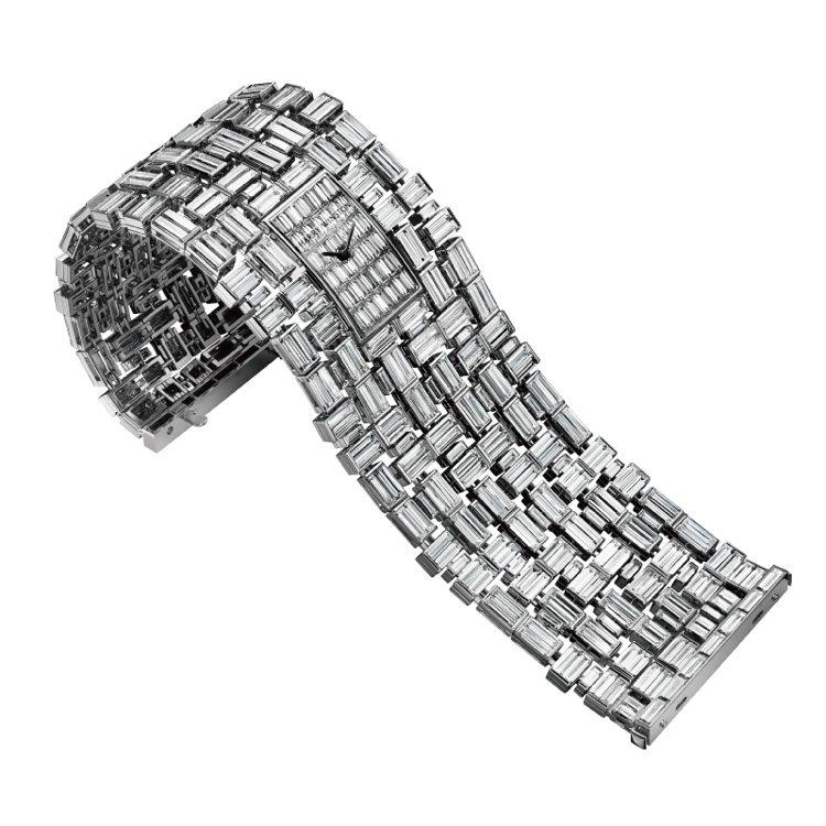 海瑞溫斯頓Glacier頂級珠寶腕錶 TWD 71,148,000PR 圖/...