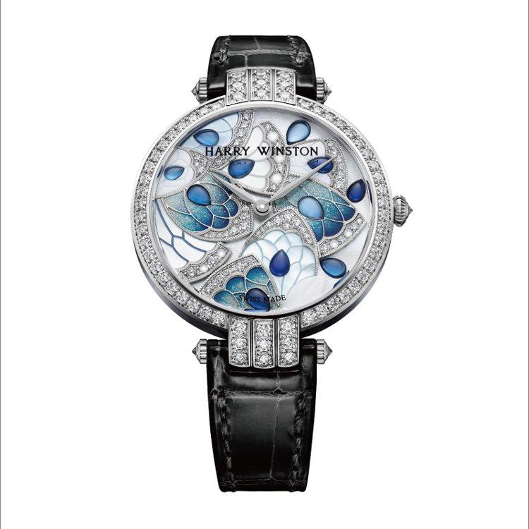 海瑞溫斯頓Premier卓時系列Precious Marquetry 腕錶NT$...