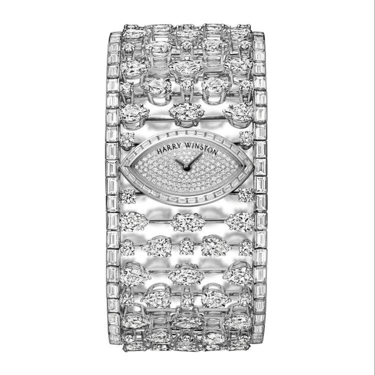 海瑞溫斯頓Mrs. Winston 頂級珠寶腕錶 TWD 35,112,000...