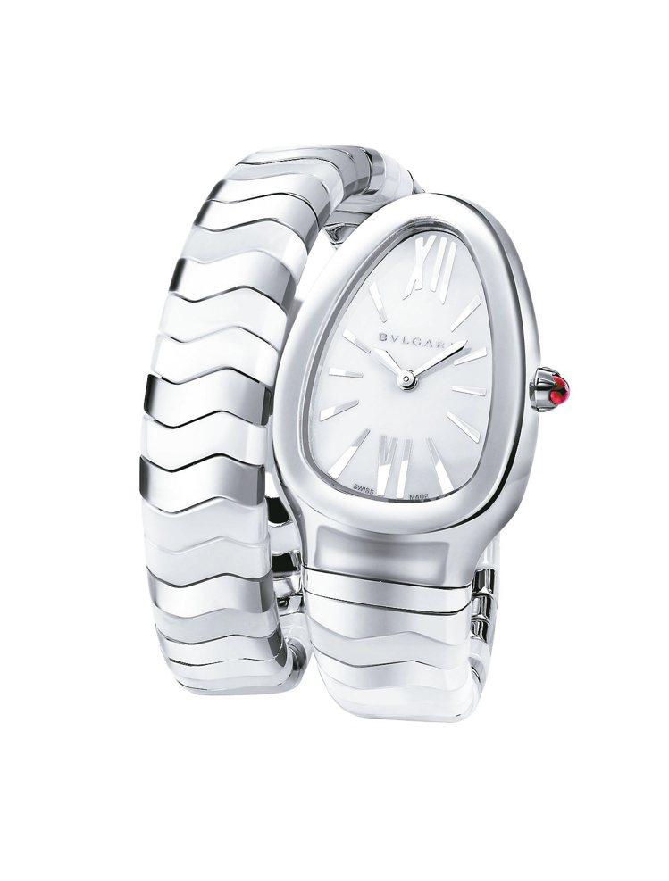 寶格麗Serpenti Spiga手表,19萬2,400元。圖/寶格麗提供
