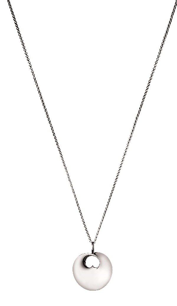 喬治傑生HIDDEN HEART「隱藏真心」項鍊,約11,600元。圖/喬治傑生...
