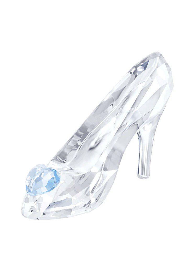 灰姑娘的玻璃鞋,3,400元。圖/施華洛世奇提供
