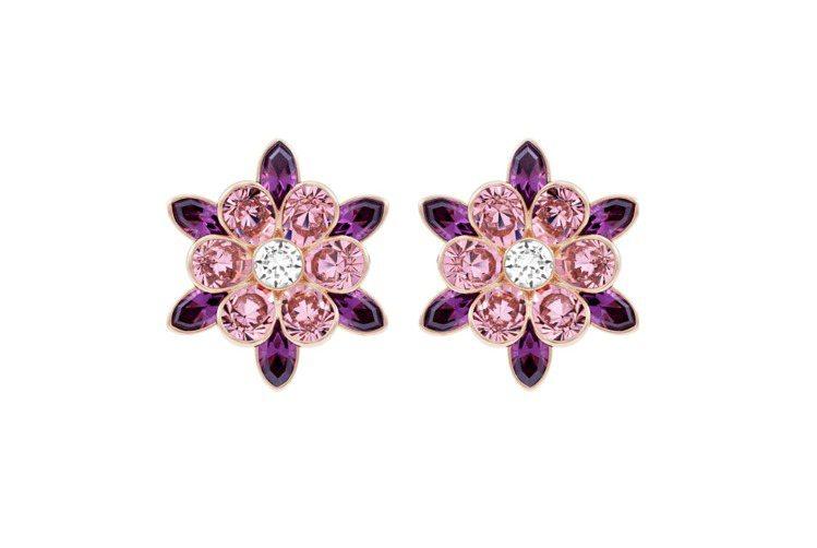Cinderella Flower 穿孔耳環,3,990元。圖/施華洛世奇提供