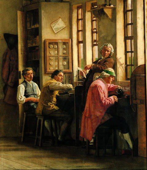 早年鐘表工匠都在房屋頂層設置工作室,所以又稱閣樓工匠,江詩丹頓創辦人Jean-M...