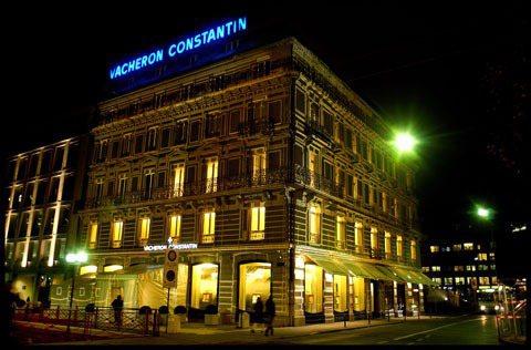 江詩丹頓位於日內瓦市中心Saint-Gervais的旗艦店(Maison),內有...