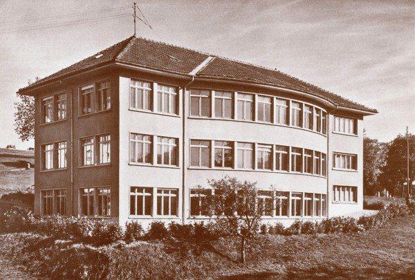 1947年伯爵表廠外觀。圖/伯爵提供