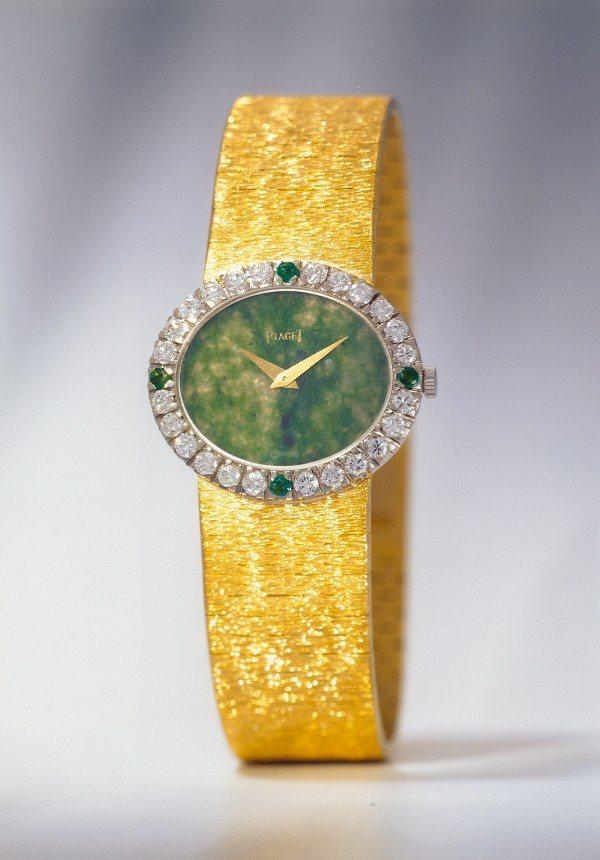 賈桂琳甘迺迪生前最愛的一只伯爵表。圖/伯爵提供