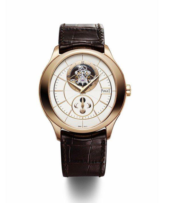 Gouverneur系列/陀飛輪腕表,18K玫瑰金表殼,43mm,自製642P超...
