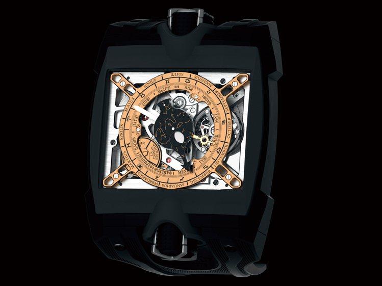 Antikythera2033-CH01手上鍊機芯∕鈦合金材質∕錶徑49.9 m...