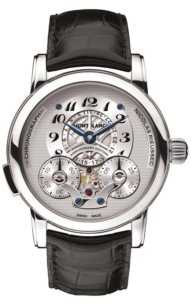 Nicolas Rieussec計時碼錶190週年紀念版。MB R110手上鍊機...