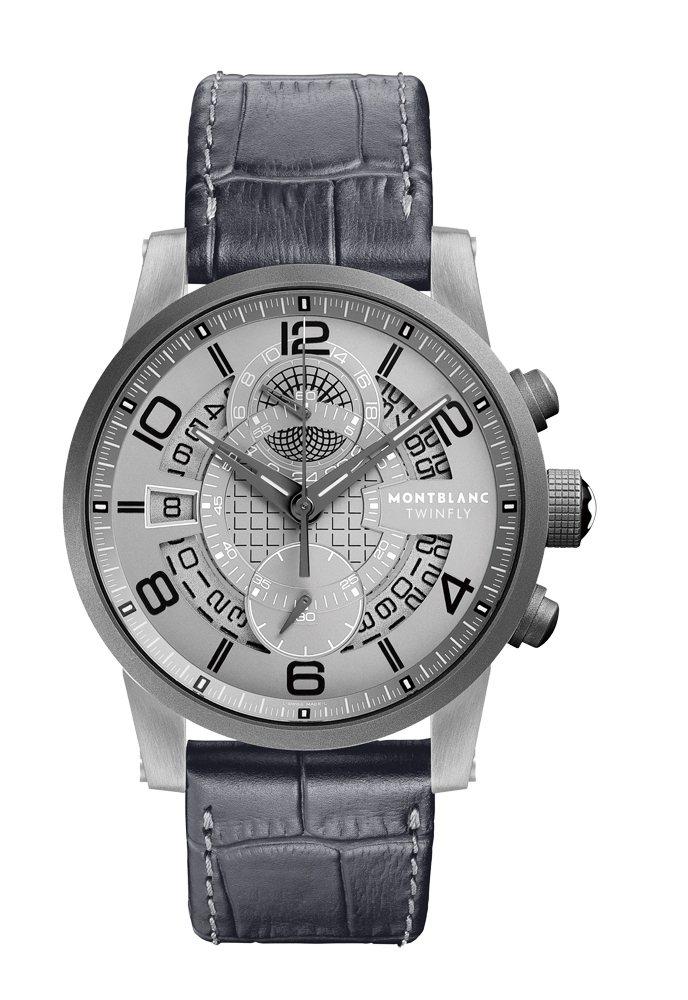 TimeWalker雙飛返計時碼錶MB LL100自動上鍊機芯∕鈦金屬材質∕錶徑...
