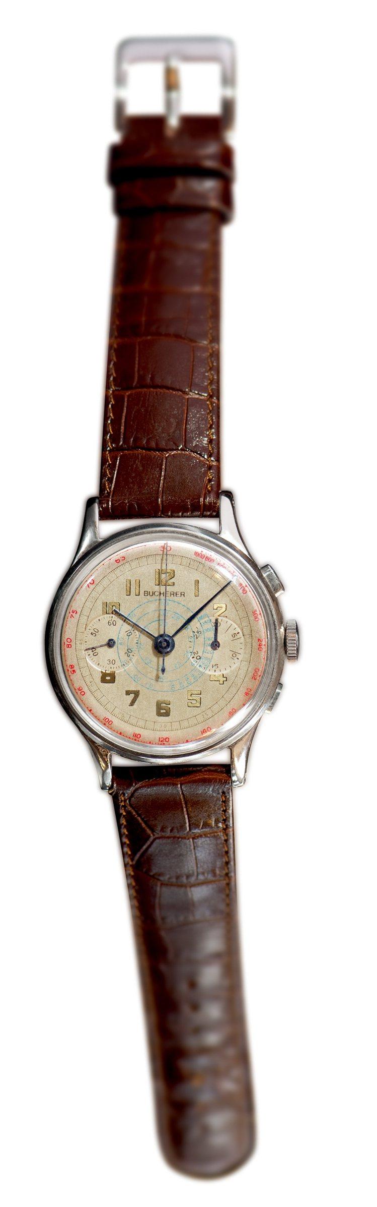 1950~1960年,典雅與功能兼具,洋溢自信可以反映出佩戴者性格的時尚男裝腕錶...