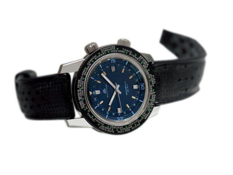 1970年,鐘錶技術已經達到顛峰,此時寶齊萊開發出一款兼具世界時區功能與潛水錶的...