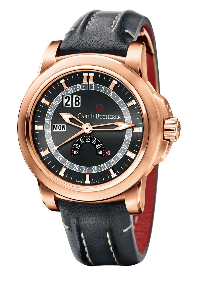 EvoTec DayDate星期腕錶,CFBA1001自動上鍊機芯/不鏽鋼材質,...