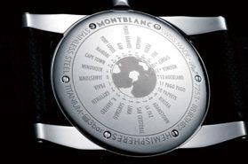 萬寶龍TimeWalker 把地球縮小在手上